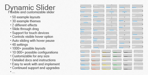 Dynamic Slider - CodeCanyon Item for Sale
