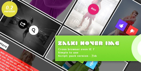 Zalki Hover Image - Plugin jQuery - CodeCanyon Item for Sale