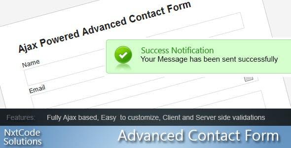 Advance Ajax Contact Form