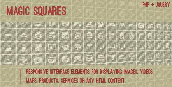 Magic Squares - Standalone Script - CodeCanyon Item for Sale