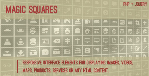 Magic Squares - Standalone Script - CodeCanyon Item for Sale
