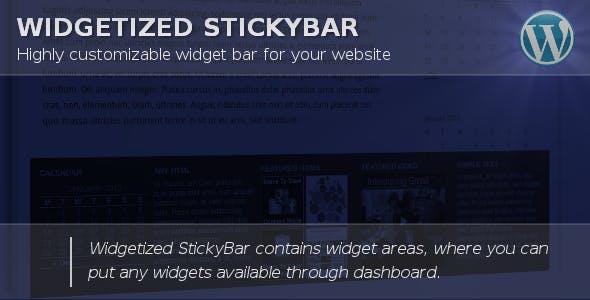 Widget Bar for WordPress