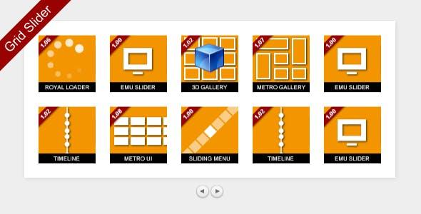 MelonHTML5 - Grid Slider