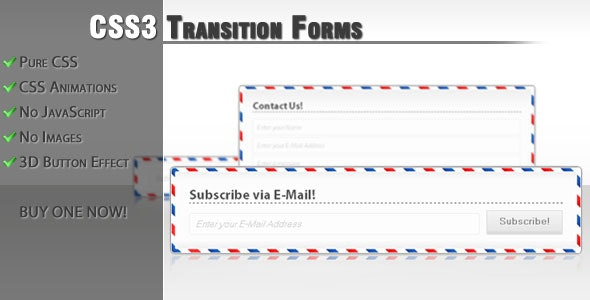 CSS3 transition forms - CodeCanyon Item for Sale