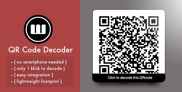 QR Code On-Site Decoder - CodeCanyon Item for Sale