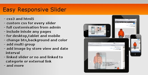 Easy Responsive Slider - CodeCanyon Item for Sale