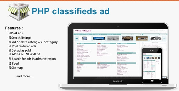 PHP Classifieds Ad - CodeCanyon Item for Sale
