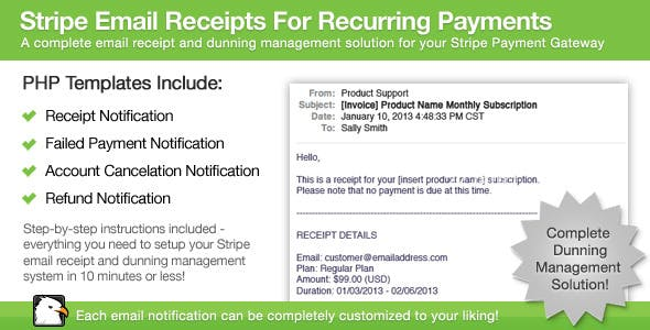 Stripe Email Receipts For Recurring Payments