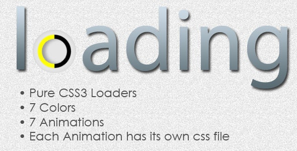 Simple CSS3 Animated Loaders