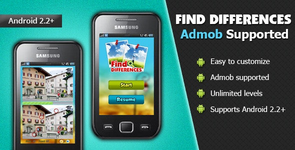 Find Differences - CodeCanyon Item for Sale