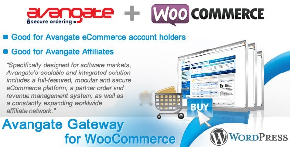 Avangate Gateway for WooCommerce - CodeCanyon Item for Sale
