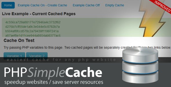 PHP Simple Cache