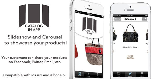 Catalog In App