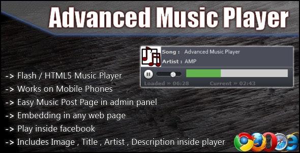 Advanced Music Player - WordPress plugin - CodeCanyon Item for Sale