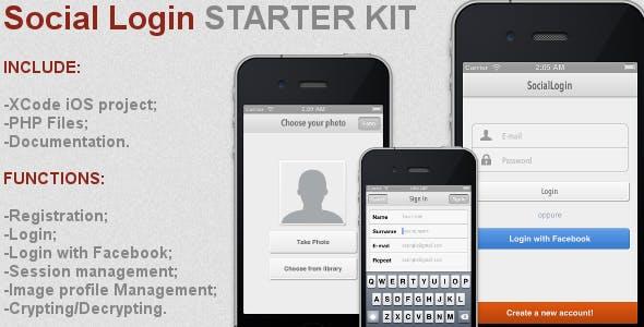Social Login Starter Kit