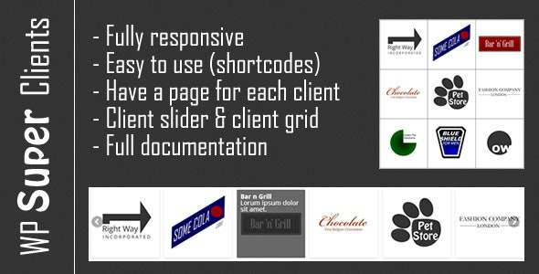 Responsive Client Grid and Slider - CodeCanyon Item for Sale