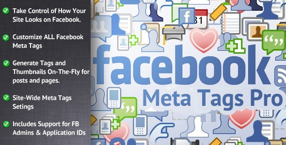 Facebook Meta Tags Pro for WordPress - CodeCanyon Item for Sale