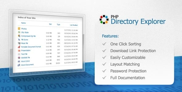 PHP Directory Explorer - CodeCanyon Item for Sale