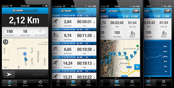Track Sports. Full App - CodeCanyon Item for Sale