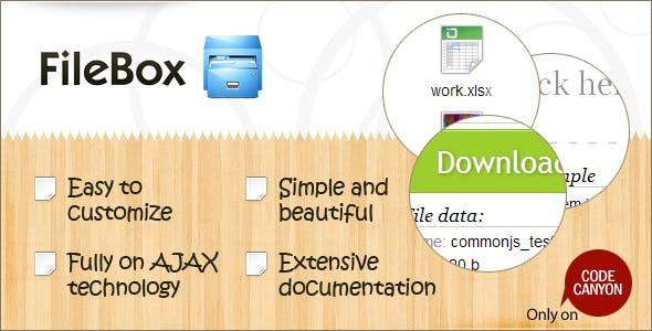FileBox - Simple File Hosting Script