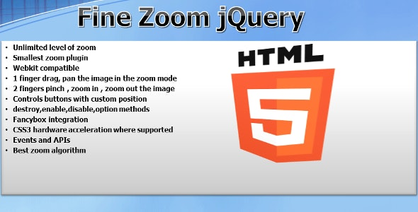 Fine Zoom - CodeCanyon Item for Sale