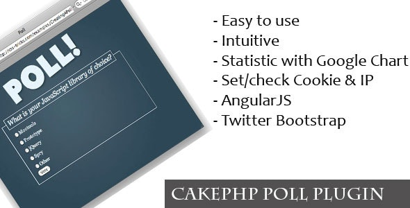 CakePHP Poll Plugin - CodeCanyon Item for Sale