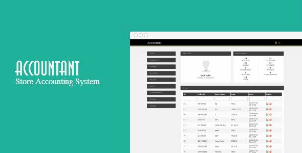 Accountant - Store Accounting System