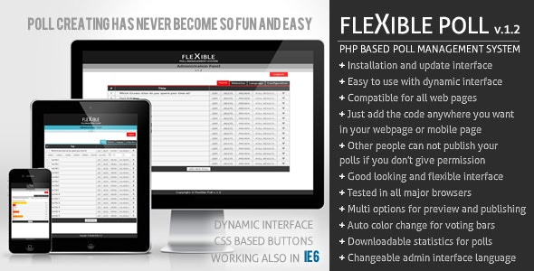 Flexible Poll - CodeCanyon Item for Sale