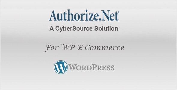 WP E-commerce  Authorize.Net - CodeCanyon Item for Sale