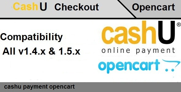 Opencart CashU Payment Extensions  - CodeCanyon Item for Sale