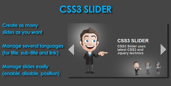 CSS3 Slider