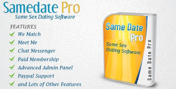 Same Date PRO- SAME SEX DATING SOFTWARE