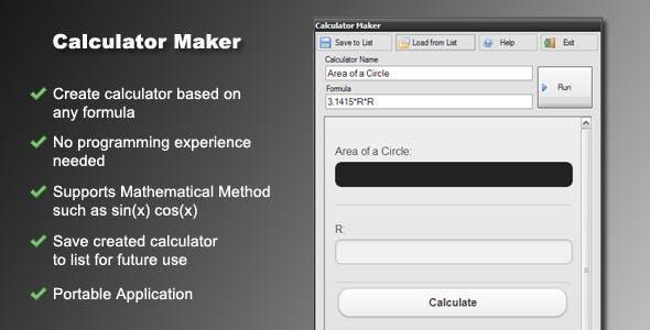 Calculator Maker