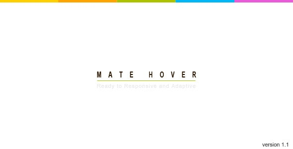 Mate Hover | jQuery Plugin - CodeCanyon Item for Sale