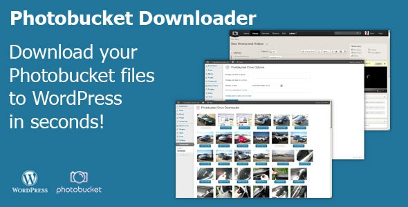 Photobucket Downloader - CodeCanyon Item for Sale