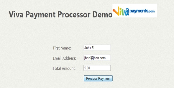 Viva Payment Gateway - CodeCanyon Item for Sale