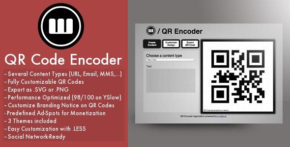 QR Encoder - CodeCanyon Item for Sale