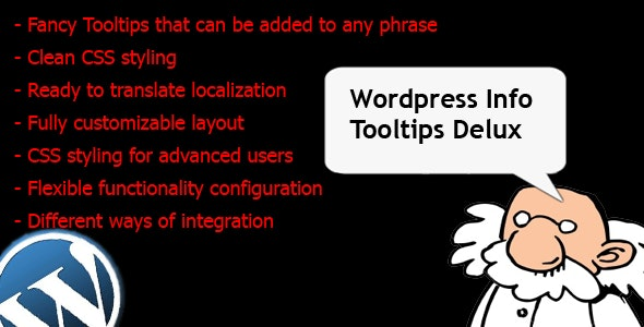 Wordpress Info Tooltips Pro - CodeCanyon Item for Sale