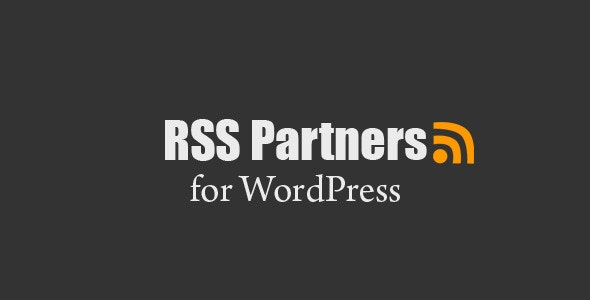 RSS Partners - WordPress RSS Feeds - CodeCanyon Item for Sale