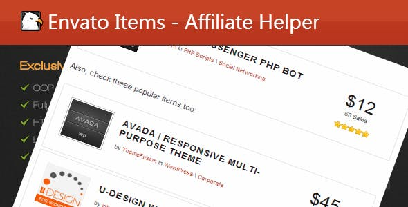 Affiliate Helper Wordpress Plugin