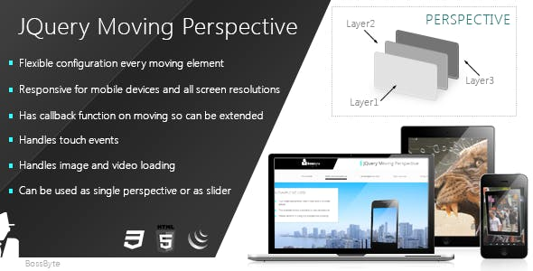 Jquery Moving Perspective