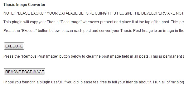 Thesis Post Image Converter - CodeCanyon Item for Sale