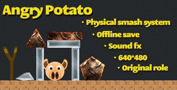 Angry Potato html5 game - CodeCanyon Item for Sale