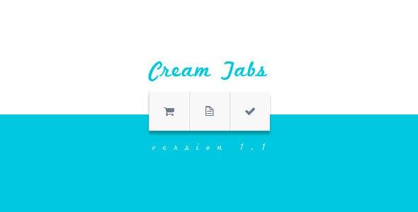Cream Tabs | jQuery Plugin