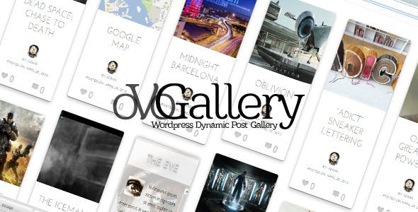 oVoGallery - Wordpress Dynamic Post Gallery