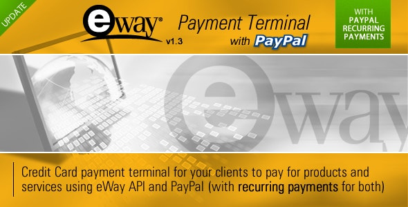 eWay Payment Terminal - CodeCanyon Item for Sale