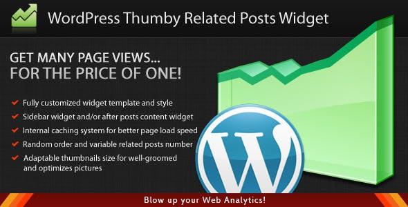 WordPress Thumby Related Posts Widget