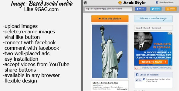 Image-Based social media  - CodeCanyon Item for Sale