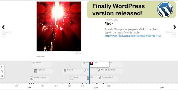 Veriteco Timeline For Wordpress - CodeCanyon Item for Sale