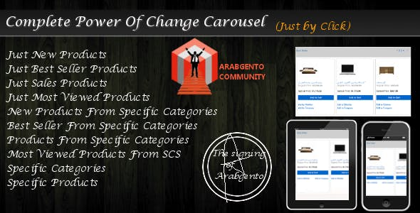 Complete Power Of Change Carousel